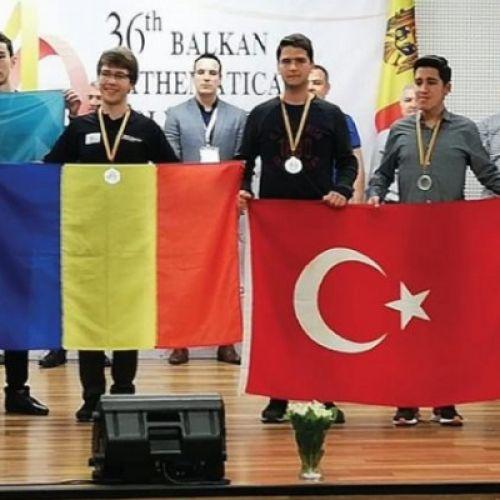 36. Balkan Matematik Olimpiyatı'nda Kazandıklarımız...