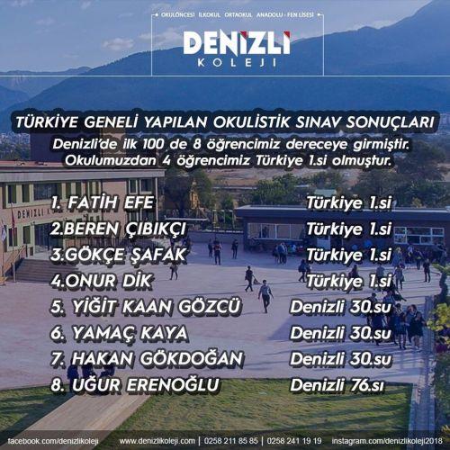 OKULİSTİK SINAVINDA GÖZ KAMAŞTIRAN BAŞARILAR...